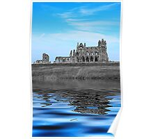 Whitby Abbey Isolation Poster