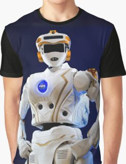 Nasa Valkyrie Android Graphic T-Shirt