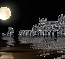 Whitby Abbey by Ian Jeffrey