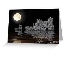 Whitby Abbey Greeting Card