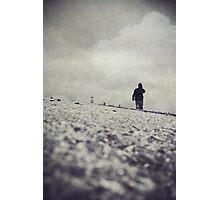 Grey Tape Photographic Print
