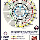 Final Fantasy VII - Midgar Mass Transit System Map by FFVII-TheSeries