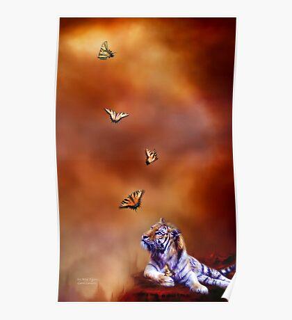 Six Wild Tigers Poster