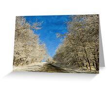Leaving Winter Behind Greeting Card