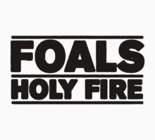 Foals - Holy fire by hazzaclothing