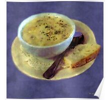 A Cup of Chowder, A Crust of Bread Poster
