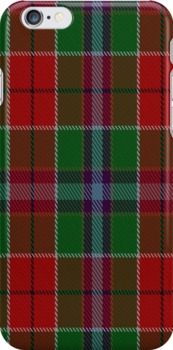 00933 Wilson's No. 121 Fashion Tartan Fabric Print Iphone Case by Detnecs2013