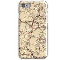 Retro New Mexico map iPhone Case/Skin