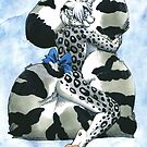 Snow Leopard Boy by farorenightclaw