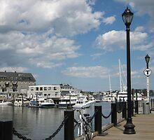 Boston Harbor by M-EK