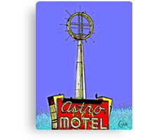 """"""" George Jetson Stayed Here """" Canvas Print"""
