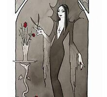 Morticia Addams by Maryanneleslie