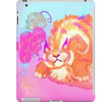 Fat Tigers Are Not Clouds iPad Case/Skin
