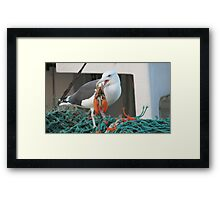 Cooked just for me Framed Print