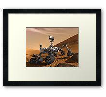 Mars Rover - Next Generation  Framed Print