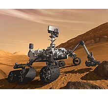 Mars Rover - Next Generation  Photographic Print