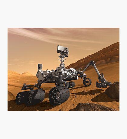 Mars Rover - Next Generation  Photographic Print
