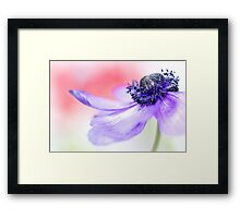 Smooth... Framed Print