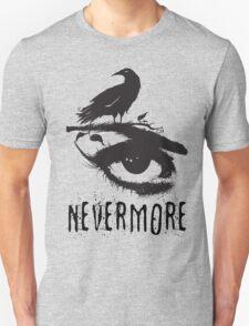 Nevermore - Edgar Allan Poe Inspired Design - The Raven Nevermore T-Shirt