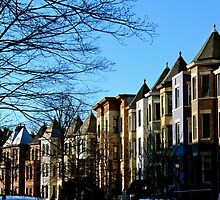 Row Homes by K. Abraham