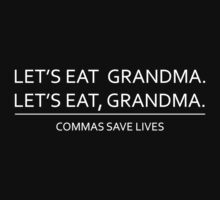 Commas save lives One Piece - Long Sleeve