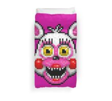 Adventure Funtime Mangle - FNAF World - Pixel Art Duvet Cover