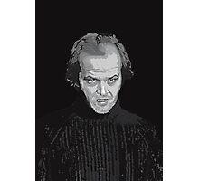 Jack Nicholson (Jack Torrance) The Shining poster Photographic Print