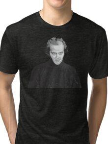 Jack Nicholson (Jack Torrance) The Shining poster Tri-blend T-Shirt