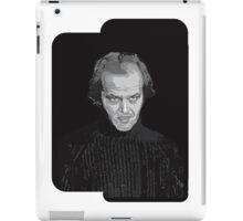 Jack Nicholson (Jack Torrance) The Shining poster iPad Case/Skin