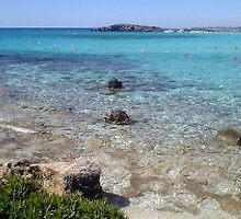Nissi Bay, Cyprus by Caroline Mackay