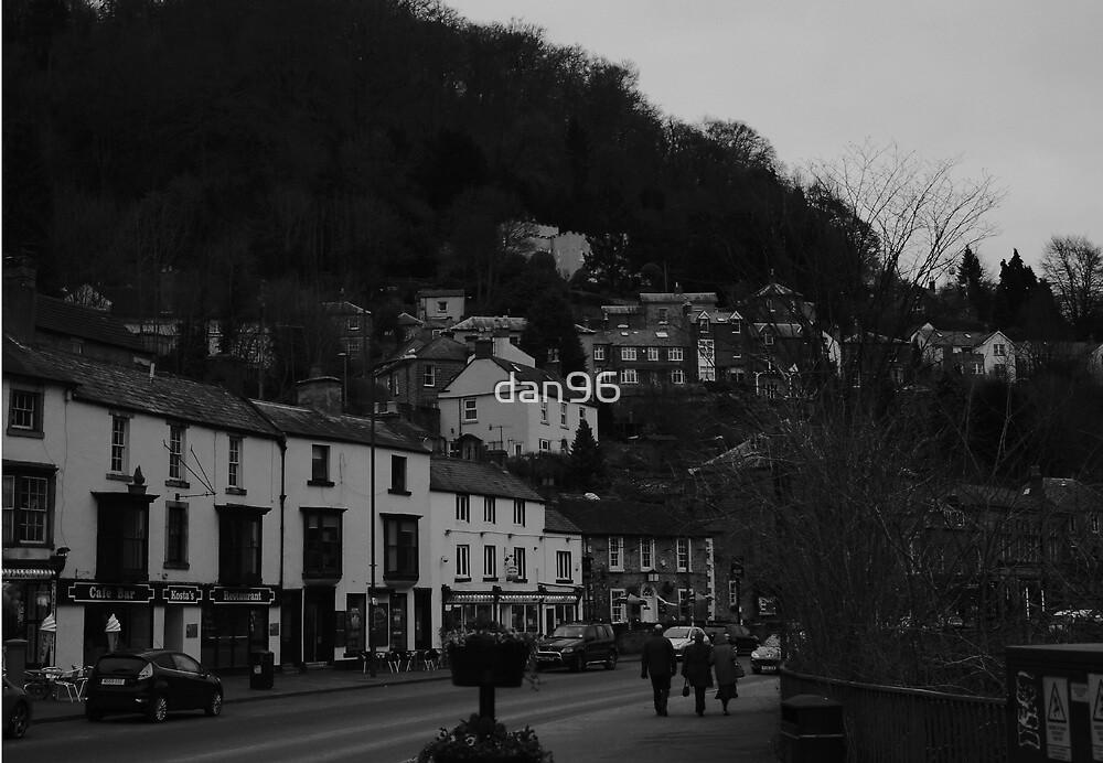 Black and white of Matlock Bath by dan96