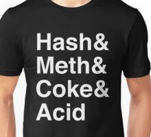 Drugs Jetset Parody Unisex T-Shirt