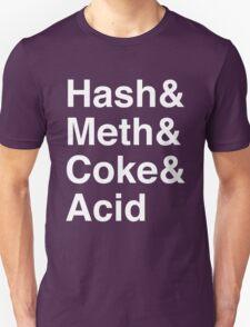 Drugs Jetset Parody T-Shirt