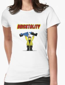 BRICKTALITY!! Womens Fitted T-Shirt