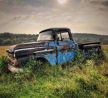 Old Truck in Spencer, TN by Bob Melgar