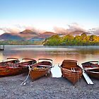 Dawn on Derwent Water  by Ian Wray