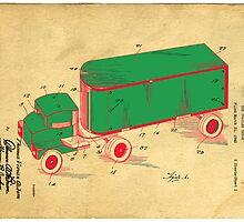 Tonka Truck Patent by Edward Fielding