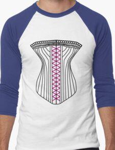 Sexy Corset T-Shirt Men's Baseball ¾ T-Shirt