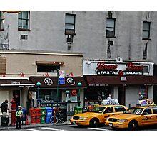 Yellow Cab drag Photographic Print