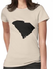 American State of South Carolina Womens Fitted T-Shirt