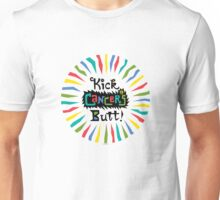 Kick Cancer's Butt  Unisex T-Shirt