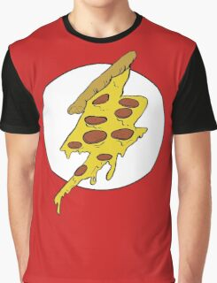 The Flash - Pizza Graphic T-Shirt