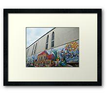 West end, Glasgow Framed Print