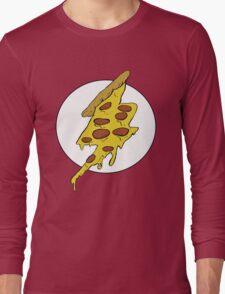 The Flash - Pizza Long Sleeve T-Shirt