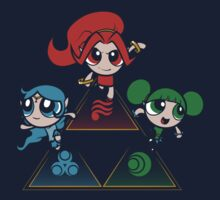 Powerpuff Goddesses by Ruwah
