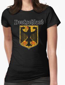 Deutschland Womens Fitted T-Shirt