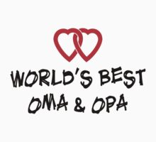 World's Best Oma & Opa Baby Tee
