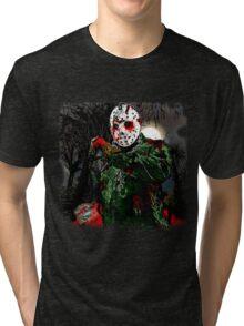 Jason Voorhees- camp crystal lake Tri-blend T-Shirt