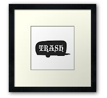 Trailer Trash Framed Print