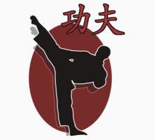 Shaolin Warrior, Kung Fu One Piece - Short Sleeve